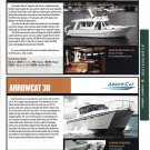 2012 Arrowcat 30 & North Pacific 38 New Boats Ad- Photos & Specs