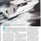 2012 Tiara 4300 Open Yacht Review- Nice Photos & Specs