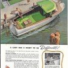 1945 Richardson Cruiser Color Ad- Nice Drawing