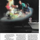 1985 AMF Hatteras 43 Motor Yacht 2 Page Color Ad- Nice Photo