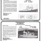 1985 American Tug-Yacht 38 & Pilgram 40 New Boats Ad- Specs- Photo