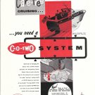 1957 C-O- Two Fire Extinguisher System Ad- Photo Of Owens 31 Yacht