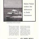 1957 Insurance Company of North America Ad- Photo of Egg Harbor Boat