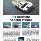 Old Phoenix Marine Color Ad- Photos of 4 Phoenix Boats