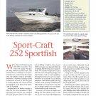 1999 Sport- Craft 252 Sportfish Boat Review- Specs & Photos