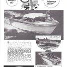 1964 Glastron Boat Co Ad- Nice Photo Gulfstream V-194
