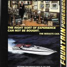 1983 Fountain Powerboats Color Ad- Nice Photo Executioner