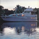 1973 Bertram 46' Yacht 2 Page Color Ad- Nice Photos
