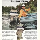1975 Evinrude 70 HP. Outboard Motors Color Ad- Nice Photo Tide Craft Boat
