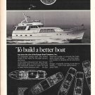 1976 Burger Boat Company Ad- Nice Photo