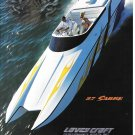 2002 Lavey Craft 27 Sabre Boat Color Ad- Great Photo- Hot Girl