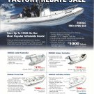 2002 Zodiac of North America Boats Color Ad- Photos of 5 Models