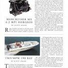 2002 Triumph 190 Bay Boat Review- Photo & Specs