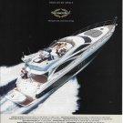 2004 Sunseeker Manhattan 64 Yacht Color Ad- Nice Photo