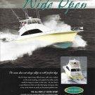 2004 Ocean 57 Super Sport Yacht Color Ad- Nice Photo