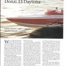 1998 Donzi Marine 33 Daytona Boat Review- Nice Photos & Specs