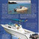 1998 Stamas Boats Color Ad- Nice Photos 270 Express Fisherman