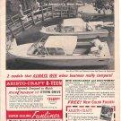 1966 Aristo- Craft Boats Ad- Nice Photo of Funliner & 8- Teen