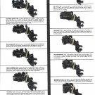 1970 Kiekhaefer MerCruiser Stern Drives 2 Page Ad- Photo of 9 Models