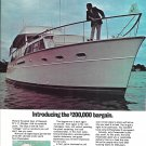 1969 Pacemaker 65' Yacht Color Ad- Nice Photo