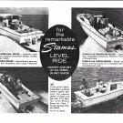 1969 Stamas Boats Inc Ad- Nice Photo of 4 Models