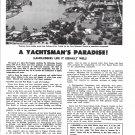 1969 Port Royal Naples, Florida Ad- Nice Photo Treasure Cove