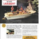 1966 Larson Boats 2 Page Color Ad- Nice Photos 16' Medallion 166