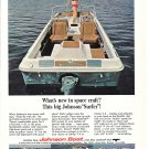1966 Johnson Surfer Boat Color Ad- Nice Photo- Hot Girl