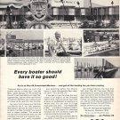 1966 Phillips 66 Ad- Nice Photo Pier 66 Marina Providence