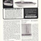 1964 Crestliner Firebolt IV 15' Boat Ad- Nice Photo