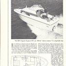 1969 MFG Caprice Express 197 Boat Ad- Nice Photo- Drawing