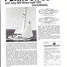 1969 Pearson 33 Yacht Ad- Photo