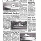 1969 Uniflite Boats Ad- Photos of 31'- 23' & 27' Models