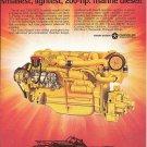 1976 Chrysler Marine Engines Color Ad- Nice Photo CM6- 55TI