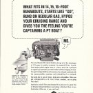 1966 Chrysler Marine Engines Ad- Photo of 80 Inboard- Outboard