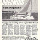 1966 O'Day Javelin Sailboat Ad- Nice Photo