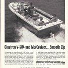 1966 Glastron V-204 Boat Ad- Nice Photo