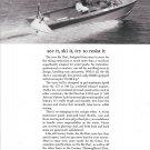 1964 Century Ski Dart 17' Boat Ad- Nice Photo