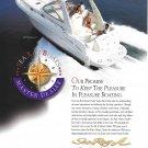 2000 Sea Ray 340 Sundancer Boat Color Ad- Nice Photo- Hot Girls