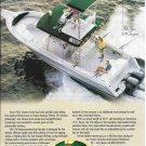 2000 Stamas 310 Tarpon Boat Color Ad- Nice Photo