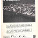 1968 Chubb Insurance Ad- Nice Photo of Rock Sound, Eleuthera