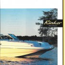 2000 Rinker 243 Siesta Boat 2 Page Color Ad- Nice Photo