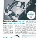1964 Atlanta Boat Works Ad- Nice Photo Aristo- Craft Funliner- Hot Girl