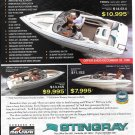 1997 Stingray Powerboats Color Ad- Photo of 190RS-180RS- 181 RS