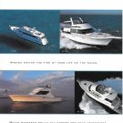1997 Hatteras Yachts Color Ad- Photo of 4 Models
