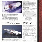 1997 Boston Whaler 175 HP & Checkmate ZT-240 New Boats Ad-Specs & Photos