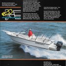 1991 S2 Pursuit 2350 Walkaround Boat Color Ad- Nice Photo