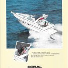 1991 Doral Boca Grande 350 MCi Boat Color Ad- Nice Photo