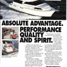 1991 Ocean 56' Cockpit Motoryacht Color Ad- Nice Photo