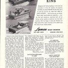 1968 Lyman Boats Ad- Photo of 26 Sleeper- Cruisette & Express